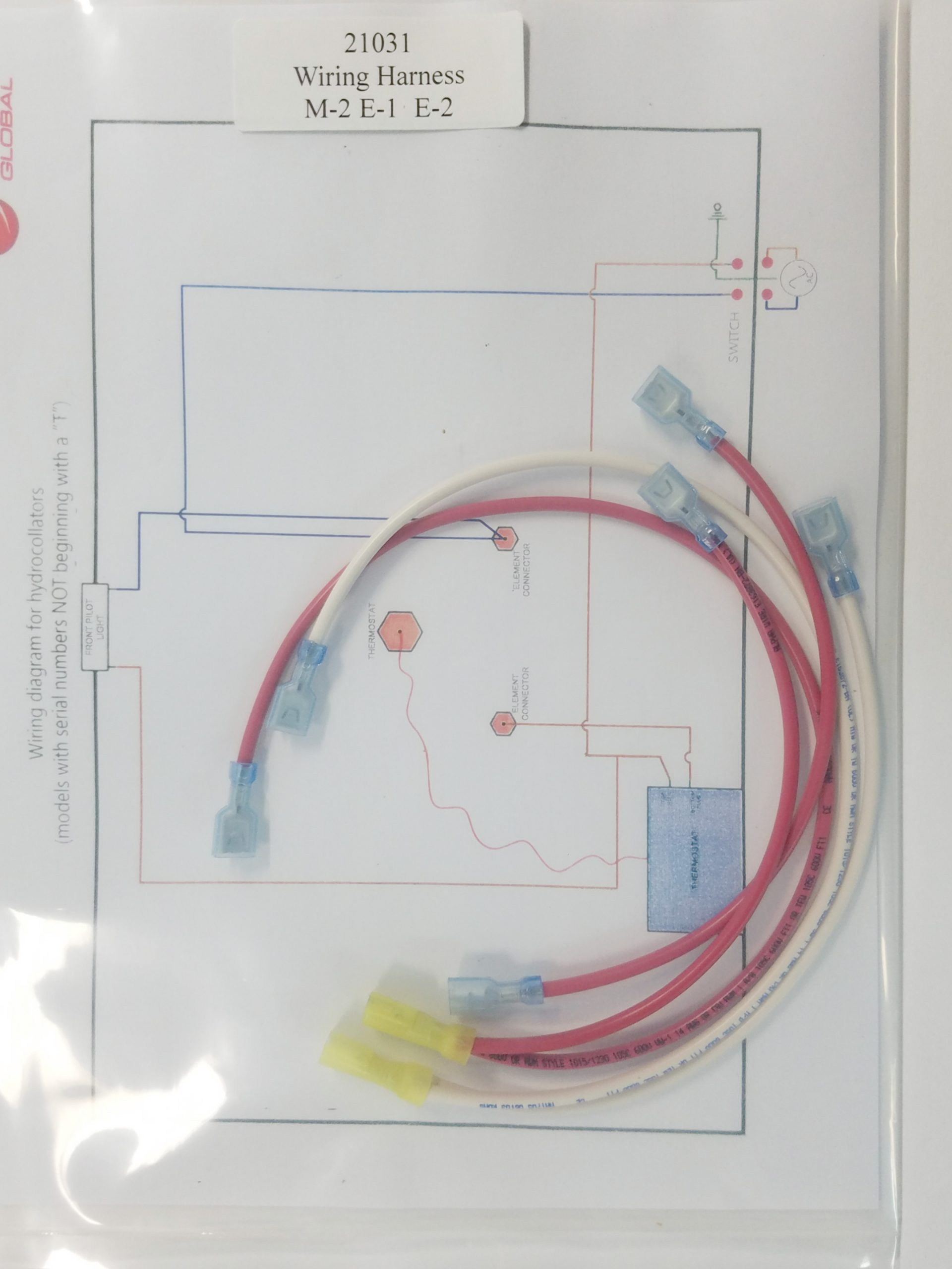 21031 Harness Wiring, E-1, E-2, SS, SS-2 & M-2 - MRChattanooga, LLC | Hydrocollator Wiring Diagram |  | MR Chattanooga, LLC