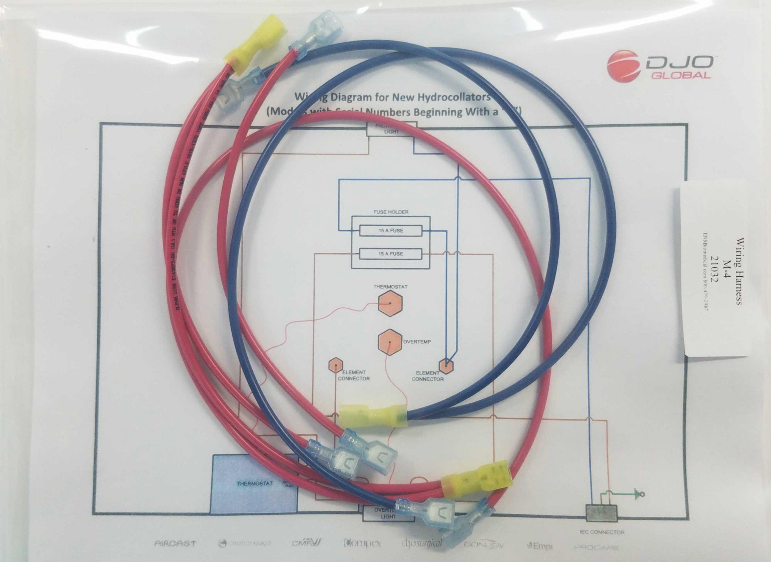 21617 Harness Wiring M-4 Hydrocollator Units - MRChattanooga, LLC | Hydrocollator Wiring Diagram |  | MR Chattanooga, LLC